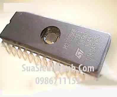Tên hàng: M27C256B-12F1 M27C256B 27C256 DIP28 IC nhớ EPROM 256K (32KX8) 120ns; Mã: M27C256B-12F1; Kiểu chân: cắm FDIP-28W; Thương hiệu: ST; Phân nhóm: IC nhớ ROM