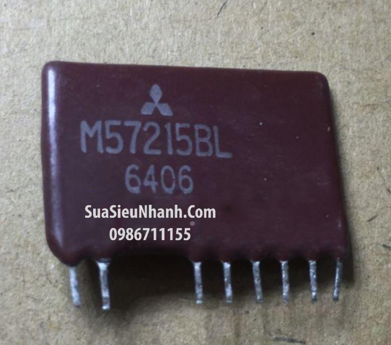 Tên hàng: M57215BL M57215L MIT ZIP IC DRIVER; Mã: M57215BL; Kiểu chân: cắm; Thương hiệu: Mitsubisshi; Xuất xứ: tháo máy; Dùng cho: vật tư servo, vật tư máy CNC; Phân nhóm: IC driver