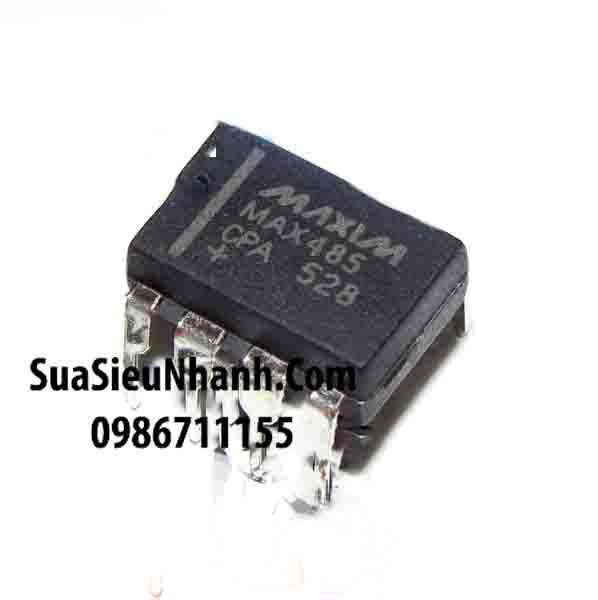 Tên hàng: MAX485CPA MAX485 DIP8 IC truyền thông RS-485, RS-422; Mã: MAX485CPA; Kiểu chân: cắm DIP-8; Thương hiệu: MAXIM; Phân nhóm: IC truyền thông RS-485