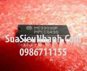 Tên hàng: MC33030P MC33030 DIP16 IC DRIVER DC Servo Motor Controller/Driver;  Mã: MC33030P;  Kiểu chân: cắm 16 chân DIP-16;  Thương hiệu: ON;  Xuất xứ: chính hãng;  Dùng cho: vật tư servo;  Phân nhóm: IC DRIVER;  Mã kho: MC33030P_807