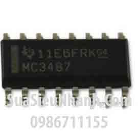 Tên hàng: MC3487 MC3487DRG4 MC3487D SOP16 IC giao tiếp RS422 Line Driver With Three-state Outputs; Mã: MC3487D; Kiểu chân: dán SOP-16; Thương hiệu: TI; Phân nhóm: IC giao tiếp