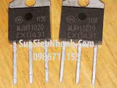 Tên hàng: MJH11019 P Transistors Darlington 15A 200V; Kiểu chân: cắm TO-3P; Hãng SX: Motorola; Mã: MJH11019; Tag: MJH11020