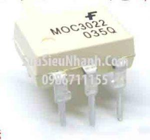 Tên hàng: MOC3022 Photo-TRIAC 10mA;  Kiểu chân: cắm DIP-6;  Hãng sx: FAIRCHILD;  Mã: MOC3022