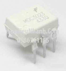 Tên hàng: MOC3023 Photo-TRIAC 5mA;  Kiểu chân: cắm DIP-6;  Hãng sx: FAIRCHILD;  Mã: MOC3023