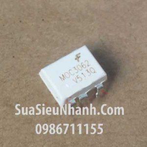 Tên hàng: MOC3062 DIP6 Photo-TRIAC opto photocoupler 600V;  Mã: MOC3062;  Kiểu chân: cắm DIP-6;  Thương hiệu: TOSHIBA;  Phân nhóm: Photocoupler->Photo-triac