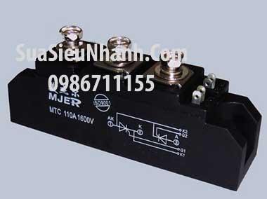 Tên hàng: MTC 110A 1600V Thyristor kép 110A 1600V; Hãng sx: MJER; Mã: MTC110A1600V; Tag: MTC110A1600V 110A 110-16 160A MTX