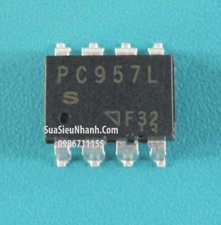 Tên hàng: PC957L SOP8 Photo-Transistor Opto High Speed 1Mb/s, High CMR DIP 8 pin OPIC Photocoupler; Mã: PC957L; Kiểu chân: 8 chân dán SOP-8; Thương hiệu: SHARP; Phân nhóm: Photo-Transistor