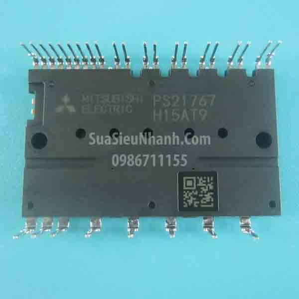 Tên hàng: PS21767 Module IGBT 30A 600V; Mã: PS21767; Kiểu chân: cắm; Hãng sx: Mitsubishi; Dùng cho: vật tư biến tần, vật tư servo, vật tư máy may, vật tư máy giặt, vật tư điều hòa