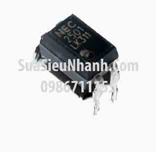 Tên hàng: NEC2501 PS2501-1 PS2501L-1 Photo-tran; Kiểu chân: cắm DIP-4; Hãng sx: NEC; Mã: PS2501-1_DIP4_NEC