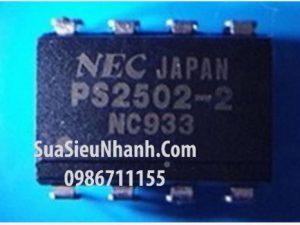 Tên hàng: PS2502-2 NEC2502-2 DIP8 Photo-Transistor Darlington opto photocoupler, HIGH ISOLATION VOLTAGE DARLINGTON TRANSISTOR TYPE MULTI PHOTOCOUPLER SERIES;  Mã: PS2502-2;  Kiểu chân: 8 chân cắm DIP-8;  Thương hiệu: NEC;  Phân nhóm: Photo-Transistor;