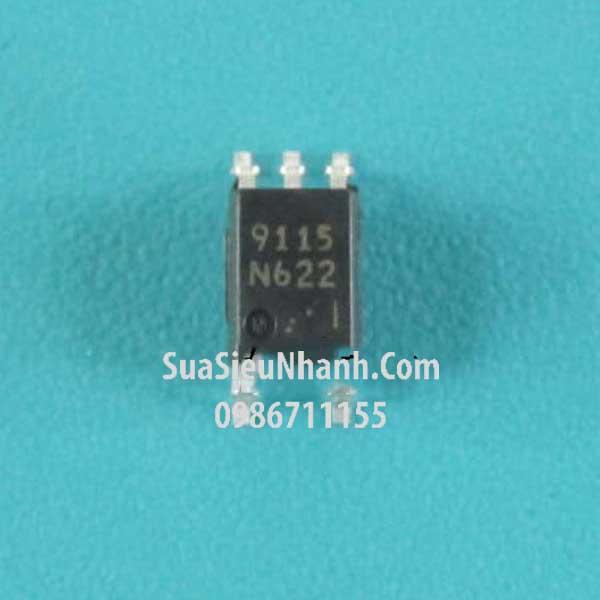Tên hàng: PS9115 9115 SOP5 Photo-IC Optp Photocoupler 3750 Vrmm; Mã: PS9115_SOP5; Kiểu chân: dán SOP-5; Thương hiệu: NEC; Xuất xứ: chính hãng; Dùng cho: vật tư biến tần, vật tư servo; Mã kho: PS9115_SOP5_-ic