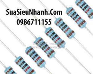 Tên hàng: Điện trở 100K 0.25W (100K 1/4W);  Mã: RES-100K0.25W