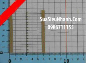 Tên hàng: Điện trở 10K 0.125W (10K 1/8W) sai số 5%;  Mã: RES-10K0.125W