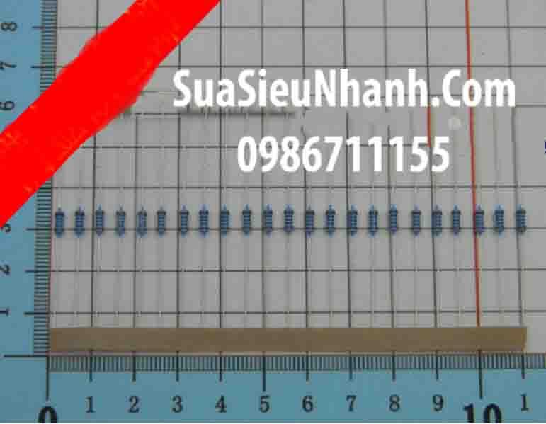 Tên hàng: Điện trở 22R 0.25W (22R 1/4W); Mã: RES-22R0.25W