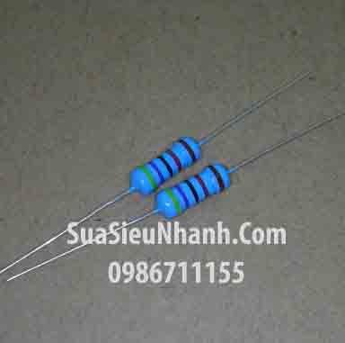 Tên hàng: Điện trở 33R 1W (33ohm 1W) sai số 1%; Mã: RES-33R1W