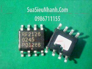 Tên hàng: RF2126FR RF2126 IC khuếch đại thuật toán, khuếch đại cao tần HIGH POWER LINEAR AMPLIFIER;  Mã: RF2126;  Kiểu chân: dán SỐP-8;  Thương hiệu: RF Micro Devices;  Phân nhóm: IC thuật toán