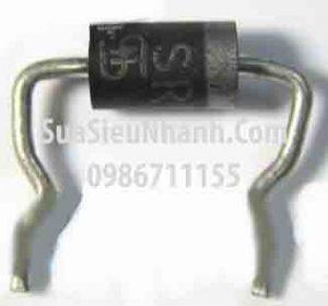 Tên hàng: SB5150 Diode xung 5A 150V Schottky Fast Rectifiers;  Mã: SB5150;  Kiểu chân: cắm