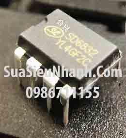 Tên hàng: SD6832 DIP8 IC nguồn;  Mã: SD6832;  Kiểu chân: cắm DIP-8