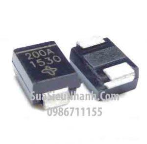 Tên hàng: SMBJ200A P6KE200A DO-214AA Diode zener 200V 600W dán; Mã: SMBJ200A_P6KE200A ; Kiểu chân: dán DO-214AA; Dùng cho: vật tư SERVO; Phân nhóm: Zener P6KE