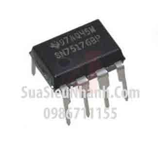 Tên hàng: SN75176BP IC giao tiếp, truyền thông; Kiểu chân: cắm DIP-8; Hãng sx: TI; Mã: SN75176BP