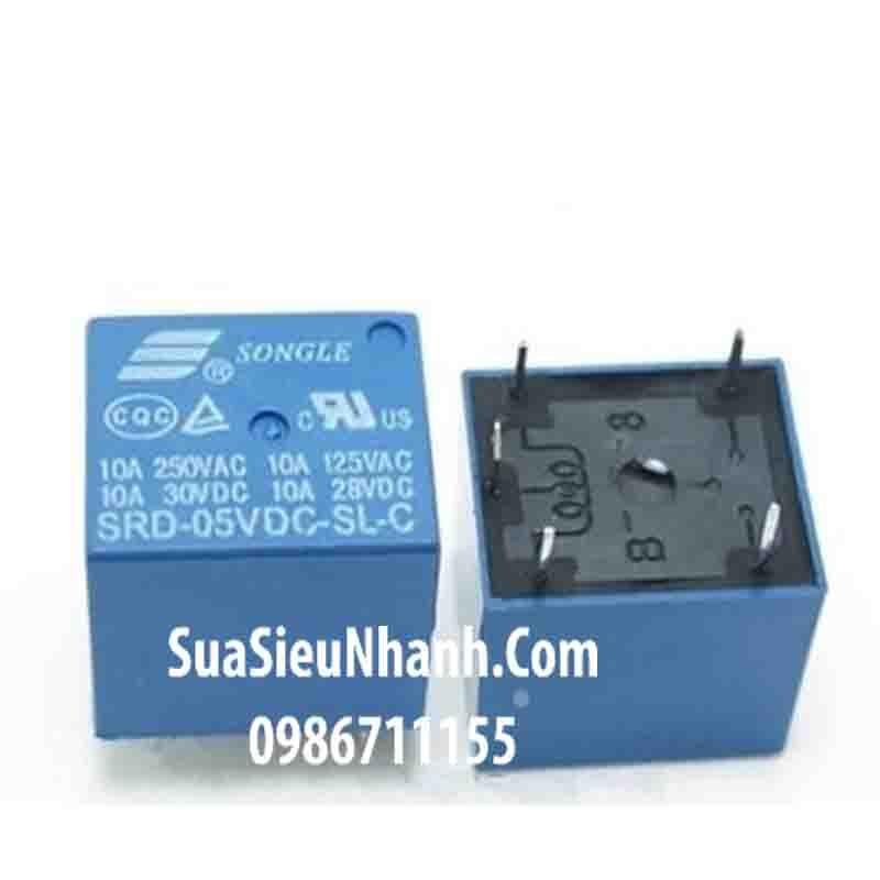Tên hàng: SRD-05VDC-SL-C Relay 5VDC 5 chân; Hãng SX: SONGLE; Dùng cho: Điều hòa; Tag: Relay điều hòa, realy 5 chân 5VDC, relay 5VDC 5 chân, rơ le điều hòa, rơ le 5 chân 5VDC, rơ le 5VDC 5 chân, T73-5V 10A SRD-5VDC