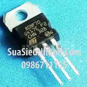 Tên hàng: STP80NF70 80NF70 N MOSFET 98A 68 V 0.0082R;  Kiểu chân: cắm TO-220;  Hãng sx: ST