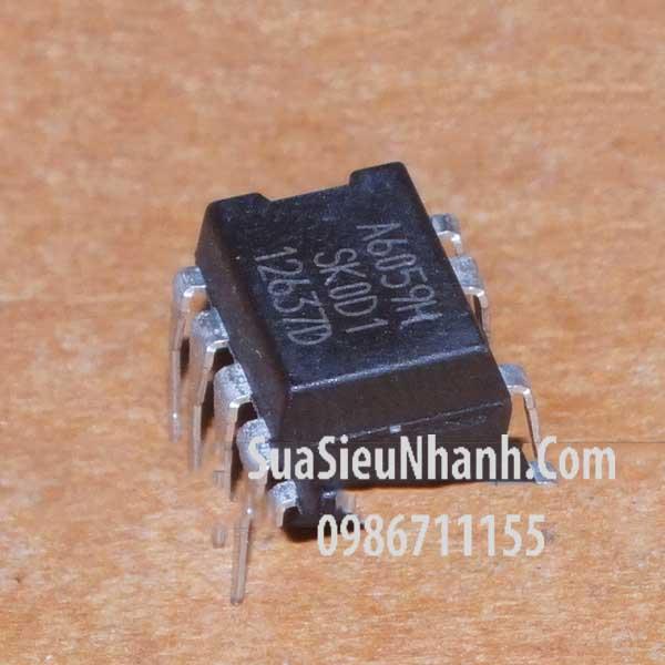 Tên hàng: STR-A6059H A6059H DIP8 IC nguồn PWM; Mã: STR-A6059H; Kiểu chân: cắm DIP-8