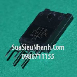 Tên hàng: STRF6168 STR-F6168 F6168 IC ampli SONY;  Kiểu chân: cắm TO-220;  Mã: STRF6168;  Dùng cho: Vật tư ampli