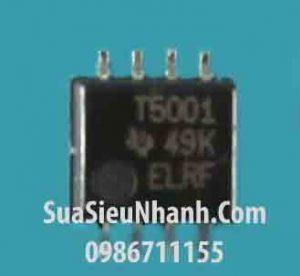 Tên hàng: TL5001 TL5001A T5001 SOP8 IC nguồn PULSE-WIDTH-MODULATION CONTROL CIRCUITS;  Mã: T5001;  Kiểu chân: dán SOP-8;  Thương hiệu: TI;  Xuất xứ: chính hãng;  Dùng cho: vật tư biến tần, vật tư servo