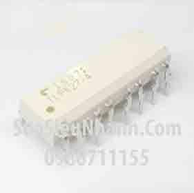 Tên hàng: TLP627-4 Photo-Transistor 4 in 1; Kiểu chân: cắm DIP-16; Hãng sx: TOSHIBA; Mã: TLP627-4