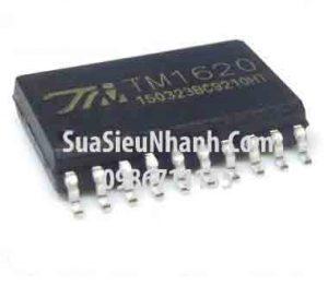 Tên hàng: TM1620 IC DRIVER LED;  Kiểu chân: dán SOP-20;  Mã: TM1620