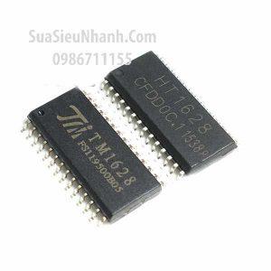Tên hàng: TM1628 SM1628 HT1628B HT1628 SOP28 IC LED Display DRIVER;  Mã: TM1628;  Kiểu chân: dán SOP-28;  Phân nhóm: IC DRIVER