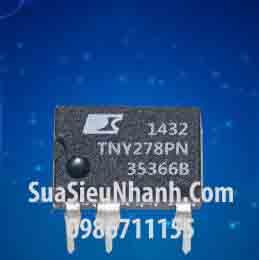 Tên hàng: TNY278PN TNY278P IC Nguồn Switching 16W; Kiểu chân: cắm DIP-7; Hãng sx: POWER; Mã: TNY278PN