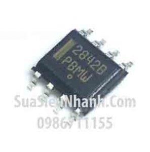 Tên hàng: UC2842 UC2842B IC nguồn Switching;  Kiểu chân: dán SOP-8;  Mã: UC2842B