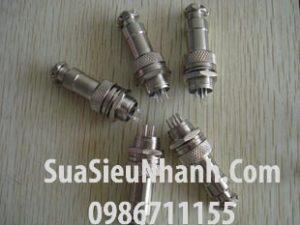 Tên hàng: Jack GX16-3P (Plug + socket); Mã: GX16-3P