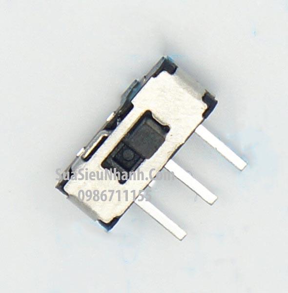 Tên hàng: MSS22D18-3 Công tắc gạt 3 chân, 2 vị trí giữ, nằm ngang, 9.05x3.55x5.45mm; Mã: MSS22D18-3