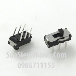Tên hàng: MSS22D18 Công tắc gạt 6 chân, 2 vị trí giữ, hàn thẳng xuyên lỗ, L9xW3.5xH3.5mm; Mã: MSS22D18; Hàng tương đương: MSS-22D18 MSS-1250
