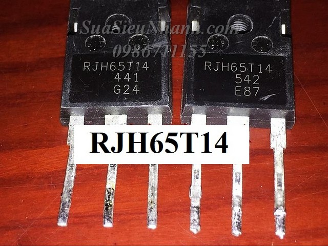RJH65T14DPQ-A0 RJH65T14 TO247 IGBT 100A 650V (NK); Mã: RJH65T14; Kiểu chân: 3 chân cắm TO-247A; Thương hiệu: RENESAS; Xuất xứ: Nhập khẩu chính hãng; Dùng cho: vật tư bếp từ; Phân nhóm: TO-247 IGBT; Mã kho: RJH65T14_NK_-ic