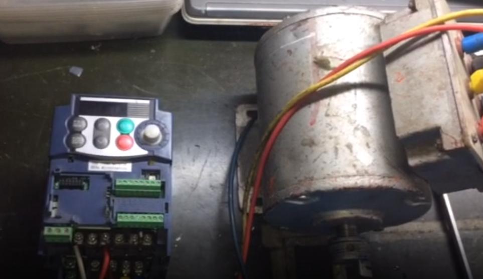 Sửa Biến Tần Fuji 0.4KW Model: FRN0.4C1S-7A Serial: 258L Lỗi không điều chỉnh được tốc độ
