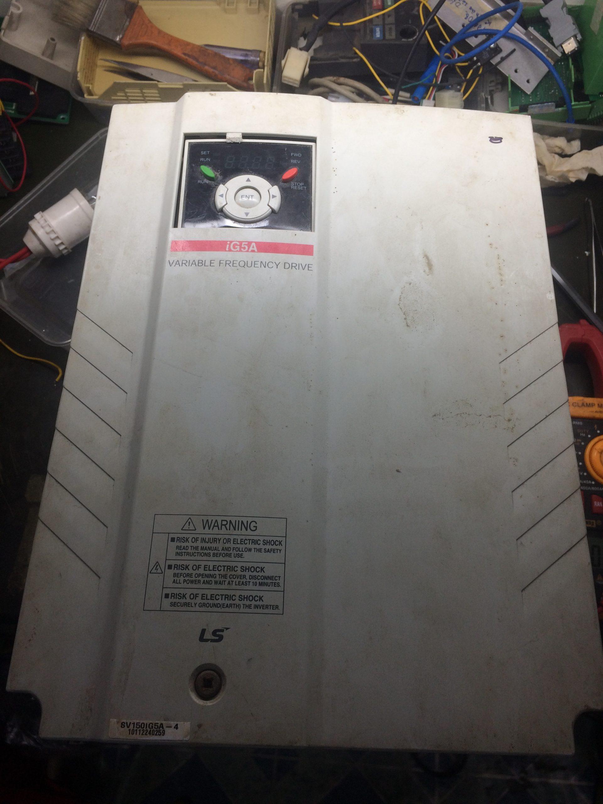 Biến tần LS 15kW Model: SV150iG5A-4 Serial: 0259