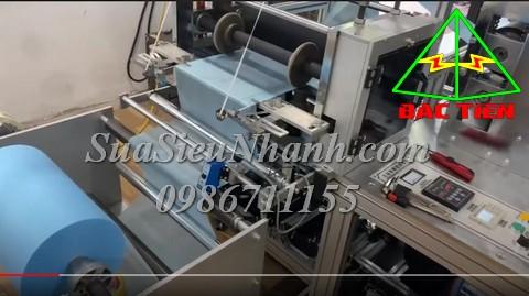 Sửa Máy hàn siêu âm 18KHz ( UL TRASONIC WELDING MACHINE ) cho máy làm Túi bọc giày vải không dệt WFB Sửa chữa Máy hàn siêu âm 18KHz ( 2000 UL TRASONIC WELDING MACHINE ) cho máy làm Túi bọc giày vải không dệt WFB ( NO WOVEN SHOE COVER MACHINE ) Model: 2000 Serial: 1530 Mô tả tình trạng ban đầu: Lỗi chập đứt cầu chì, không kêu chít rít