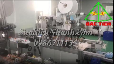 Sửa máy làm khẩu trang máy sản xuất khẩu trang tự động, sửa servo driver XINJE DS5L-20P7-PTA