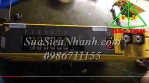 A06B-6111-H006#H550 Sửa SERVO DRIVER FANUC 6.8KW MODEL: A06B-6111-H006#H550 Lỗi 19