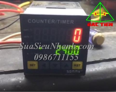 Sửa Bộ đếm CQ4 SERIES COUNTER/TIMER SOMMY Model: CQ4-RC60 Serial: 1755 Mô tả hư hỏng ban đầu: Lỗi nguồn