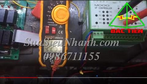 Sửa chữa Bộ điều khiển van MOOG VP Controller Model G122-828B017 Serial 0466 Lỗi nguồn không xuất điều chỉnh xuống điện áp âm Sửa chữa Bộ điều khiển van MOOG VP Controller Model: G122-828B017 Serial: 0466 Mô tả hư hỏng ban đầu: Lỗi nguồn không xuất điều chỉnh xuống điện áp âm