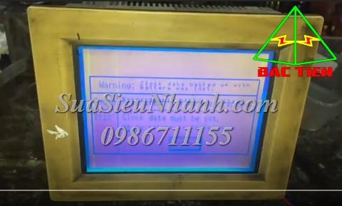 Sửa Màn hình HMI Idec Model HG2A-SB22CF Serial 2Y05 Lỗi màn hình sáng tối Sửa chữa Màn hình HMI Idec Model: HG2A-SB22CF Serial: 2Y05 Mô tả tình trạng ban đầu: Lỗi màn hình sáng tối
