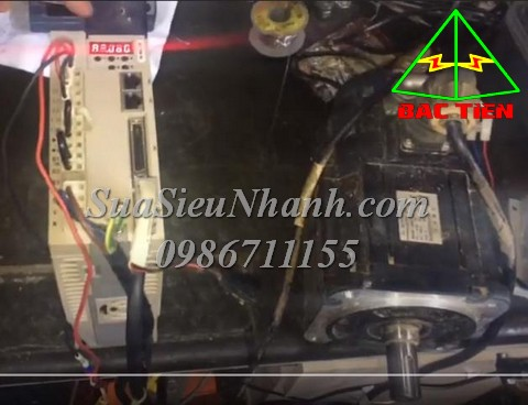 Sửa AC SERVO DRIVE JINGSU K2 1.5KW K2AS15AB-A 0318 Lỗi A.40 Bus encoder is abnormal Sửa chữa AC SERVO DRIVE JINGSU K2 1.5KW Model: K2AS15AB-A Serial: 0318 Mô tả hư hỏng ban đầu: Lỗi A.40 Bus encoder is abnormal