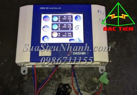 Sửa Bộ điều khiển động cơ rung DAISHIN PMX-2 CONTROLLER PMX-2C Serial: 5234 Lỗi E02-2 LF quá dòng Sửa chữa Bộ điều khiển động cơ rung DAISHIN PMX-2 CONTROLLER Model: PMX-2C Serial: 5234 Mô tả hư hỏng ban đầu: Lỗi E02-2 LF quá dòng